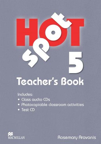 Hot Spot 5 Teacher's Book with Test CD and Class audio CDs / Підручник для вчителя