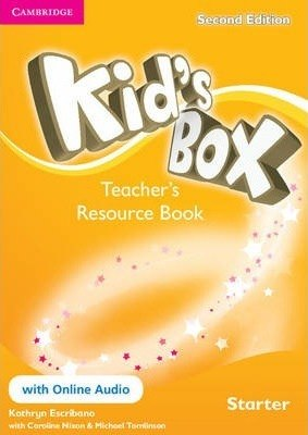 Kid's Box Starter Teacher's Resource Book with Online Audio / Ресурси для вчителя
