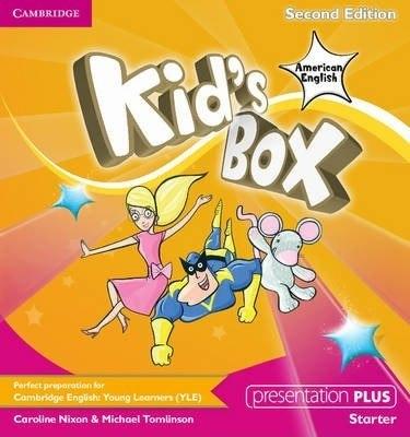 Kid's Box Second Edition Starter Presentation Plus / Ресурси для інтерактивної дошки