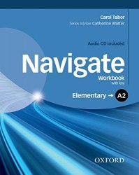 Navigate A2 Elementary Workbook with CD (with key) / Робочий зошит