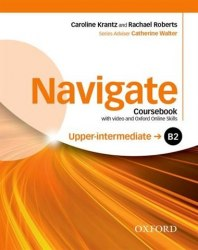Navigate B2 Upper-intermediate Coursebook with DVD and Oxford Online Skills Program / Підручник для учня