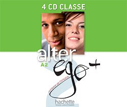 Alter Ego+ Niveau 2 CD audio classe (x4) / Аудіо диск