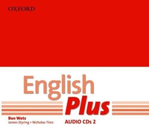 English Plus 2 Class CDs / Аудіо диск
