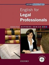 English for Legal Professionals + MultiROM / Підручник для учня