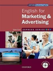 English for Marketing and Advertising + MultiROM / Підручник для учня
