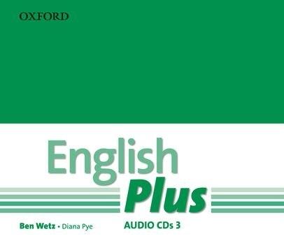 English Plus 3 Class CDs / Аудіо диск