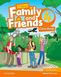 Family and Friends 4 (2nd edition) Class Book and Multi-ROM / Підручник для учня