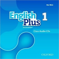 English Plus 1 (2nd Edition) Class CDs / Аудіо диск