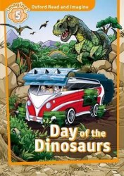 Oxford Read and Imagine 5 Day of the Dinosaurs + Audio CD / Аудіо диск