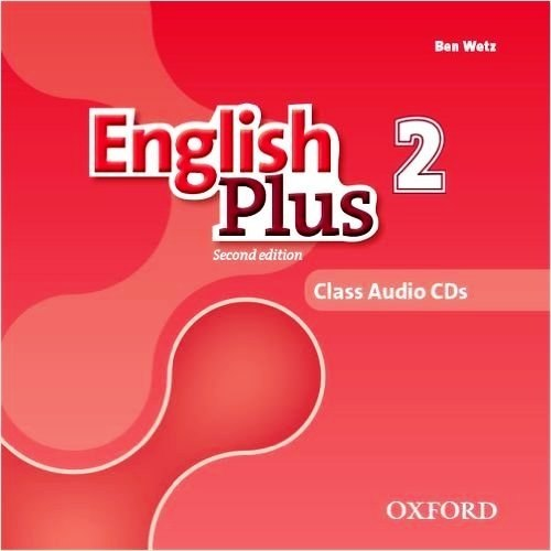 English Plus 2 (2nd Edition) Class CDs / Аудіо диск
