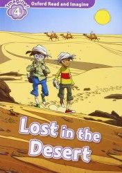 Oxford Read and Imagine 4 Lost in the Desert + Audio CD / Книга з диском