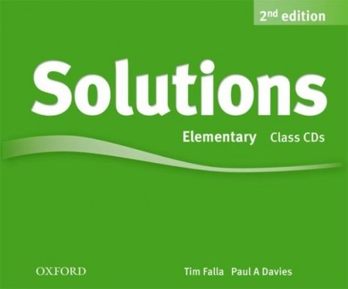 Solutions (2nd Edition) Elementary Class CDs / Аудіо диск