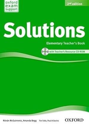 Solutions (2nd Edition) Elementary Teachers Book / CD-ROM / Підручник для вчителя