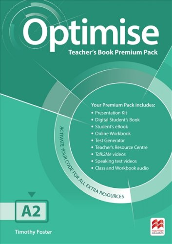 Optimise A2 Teacher's Book Premium Pack / Підручник для вчителя