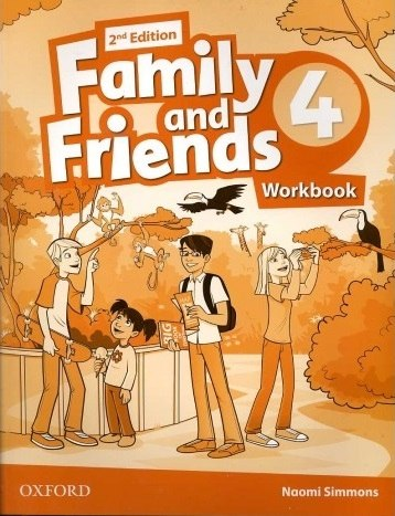 Family and Friends 4 (2nd Edition) Workbook / Робочий зошит
