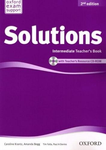 Solutions (2nd Edition) Intermediate Teachers Book/CD-ROM / Підручник для вчителя