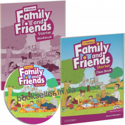 Family and Friends Starter (2nd Edition) комплект Oxford University Press