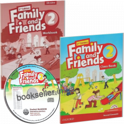 Family and Friends 2 (2nd Edition) комплект Oxford University Press