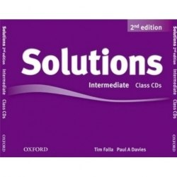 Solutions (2nd Edition) Intermediate Class CDs / Аудіо диск