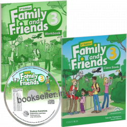 Family and Friends 3 (2nd Edition) комплект Oxford University Press