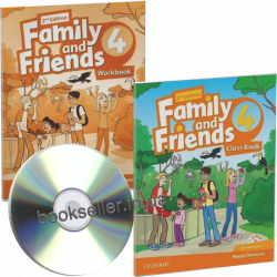 Family and Friends 4 (2nd Edition) комплект Oxford University Press