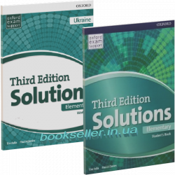 Solutions (3rd Edition) Elementary комплект Oxford University Press