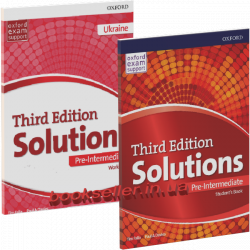 Solutions (3rd Edition) Pre-Intermediate комплект Oxford University Press