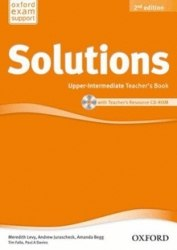 Solutions (2nd Edition) Upper-Intermediate Teachers Book/CD-ROM / Підручник для вчителя
