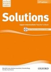 Solutions (2nd Edition) Upper-Intermediate Teachers Book/CD-ROM Oxford University Press