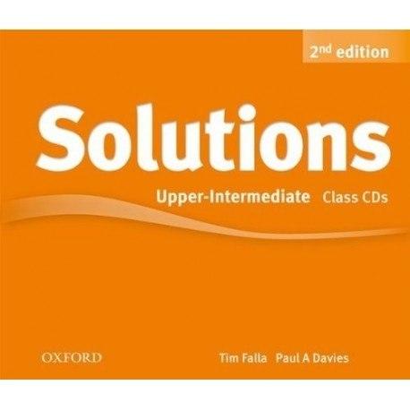 Solutions (2nd Edition) Upper-Intermediate Class CDs / Аудіо диск