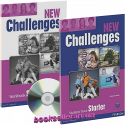 New Challenges Starter комплект Pearson