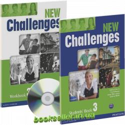 New Challenges 3 комплект Pearson