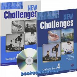 New Challenges 4 комплект Pearson