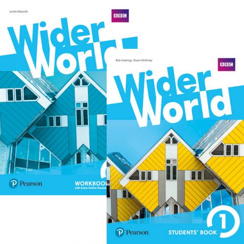 Wider World 1 комплект / Підручник + зошит