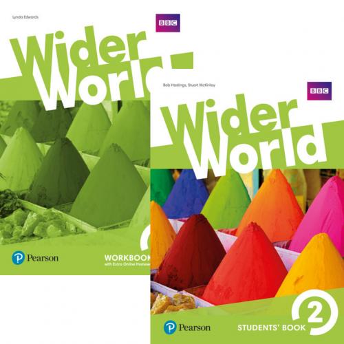 Wider World 2 комплект / Підручник + зошит