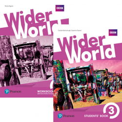Wider World 3 комплект / Підручник + зошит