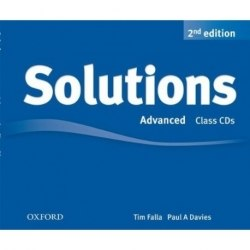 Solutions (2nd Edition) Advanced Class CDs / Аудіо диск