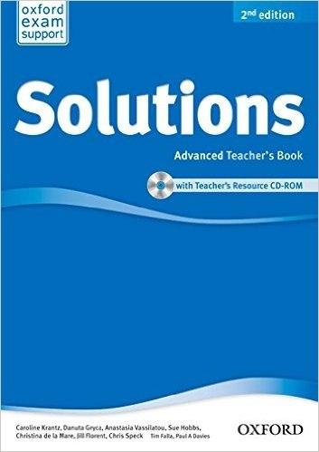 Solutions (2nd Edition) Advanced Teachers Book/CD-ROM / Підручник для вчителя