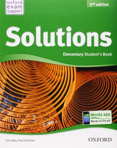 Solutions (2nd Edition) Elementary Student's Book / Підручник для учня