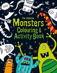 Monsters Colouring and Activity Book Usborne Publishing / Підручник для учня