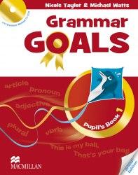 Grammar Goals 1 Pupil's Book with Grammar Workout CD-ROM / Підручник для учня
