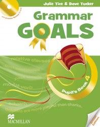 Grammar Goals 4 Pupil's Book with Grammar Workout CD-ROM / Підручник для учня