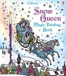 Snow Queen Magic Painting Book / Розмальовка