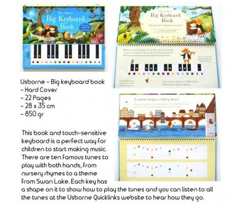 Big Keyboard Book / Музична книга