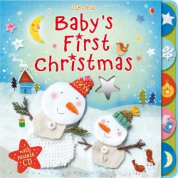 Baby's First Christmas with Music CD / Книга з диском