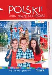 Polski krok po kroku Junior Gry i zabawy językowe Glossa