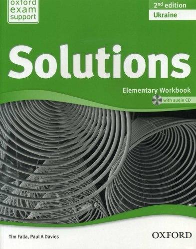 Solutions (2nd Edition) Elementary Workbook Ukraine / Робочий зошит