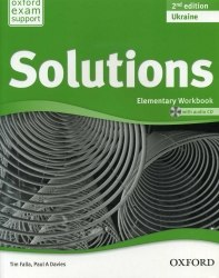 Solutions (2nd Edition) Elementary Workbook Ukraine / Робочий зошит