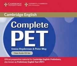 Complete PET Class Audio CDs / Аудіо диск