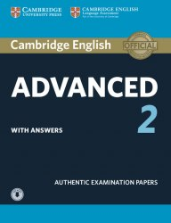 Cambridge English: Advanced 2 Student's Book with answers and Downloadable Audio / Підручник для учня